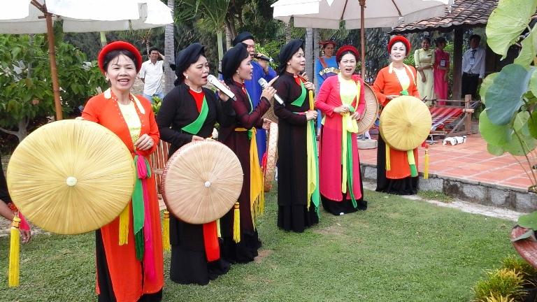 Các tiết mục hát quan họ Bắc Ninh